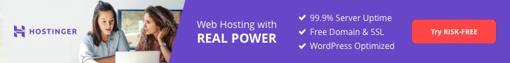 hostinger affiliate banner web hosting